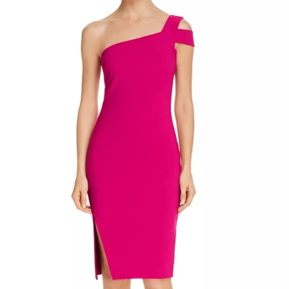 Likely Dresses & Skirts - NWT LIKELY Cerise Packard one-shoulder dress, sz 4